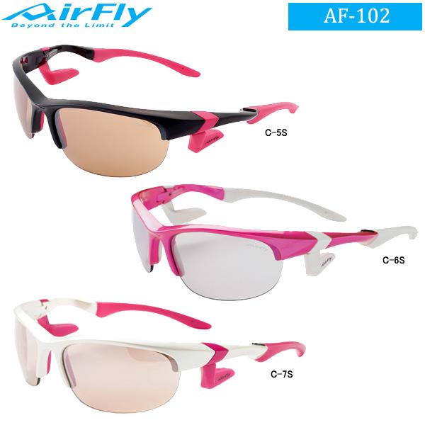 ♪【レディース】エアフライ ノーズパッドレス スポーツサングラス (Lady's) AirFly AF-102