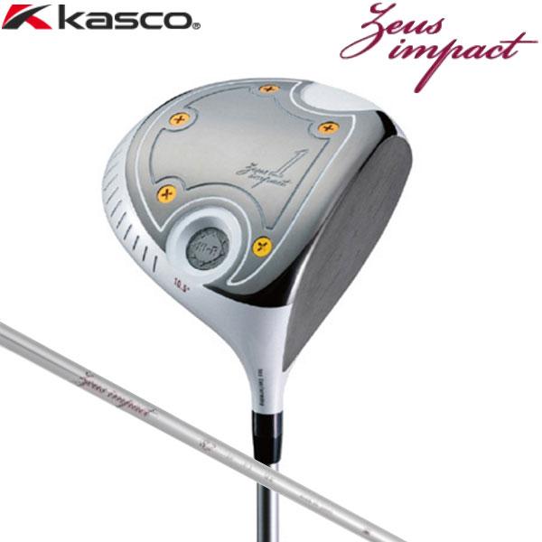 【18年継続モデル】キャスコ ゼウス インパクト ドライバー [ゼウス インパクト オリジナル] カーボンシャフト KASCO Zeus impact