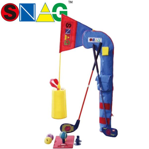 【17年モデル】 スナッグゴルフ プレイセット 0041 (ランチャー,ローラー,スナッグフラッグ, ボール(6個),ランチパッド,ソフトケース,解説DVD) SNAG GOLF