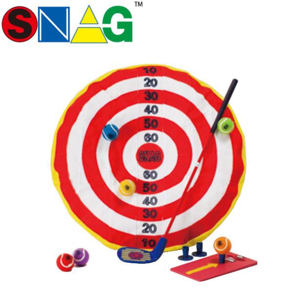 【17年モデル】 スナッグゴルフ ショットセット 0042 (ランチャー,ランチパッド,ボール(6個), スナッグターゲット,解説DVD) SNAG GOLF