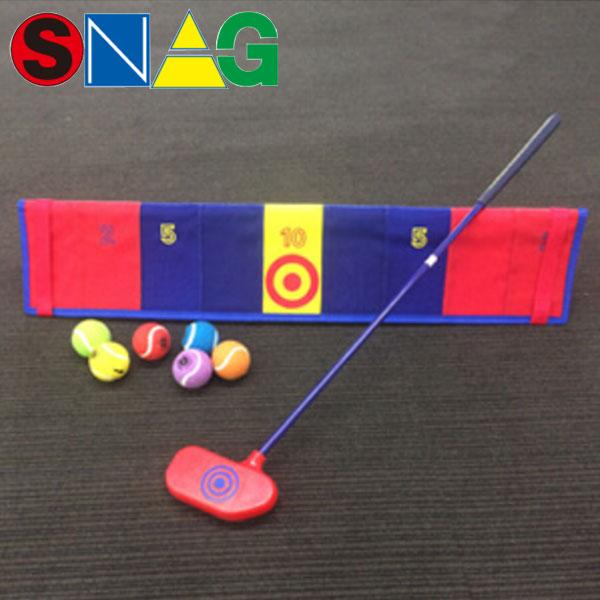 【17年モデル】 スナッグゴルフ パッティングセットB 0044 (ローラー,スナッグボール(6個), スナッグボード) SNAG GOLF