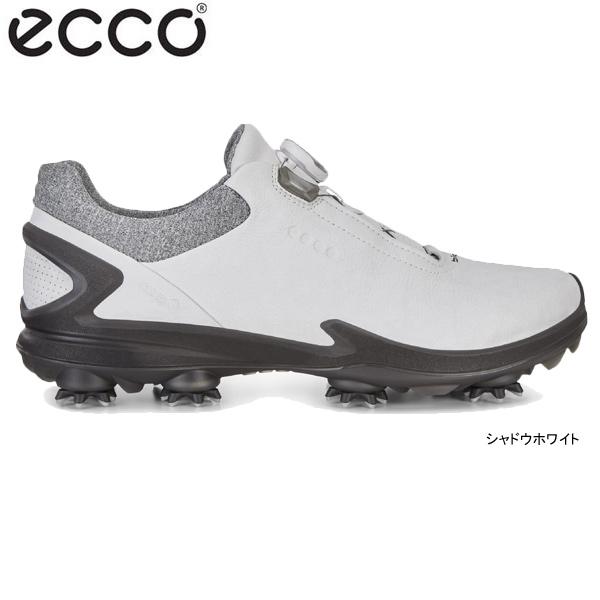 ♪【19年SSモデル】エコー メンズ ゴルフシューズ BIOM G3 BOA 131814-01152 (シャドウホワイト) (Men's) ecco