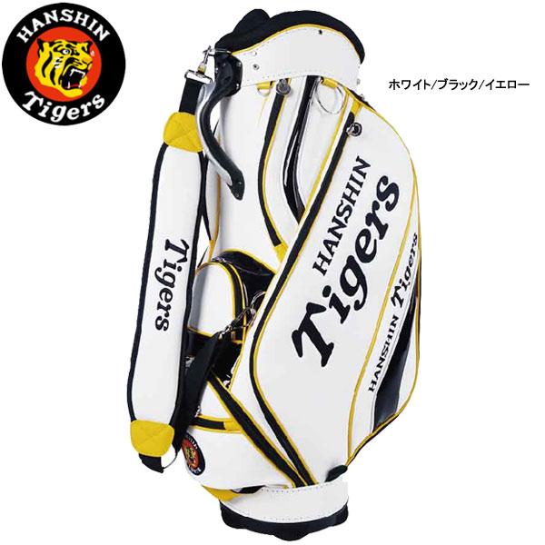 【20年モデル】レザックス 阪神タイガース メンズ キャディバッグ HTCB-0517 (Men's) Tigers LEZAX