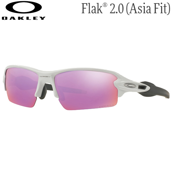 オークリー メンズ スポーツサングラス OO9271-1061 [ポリッシュドホワイト/プリズムゴルフ] (Men's) OAKLEY Flak 2.0 (Asia Fit)
