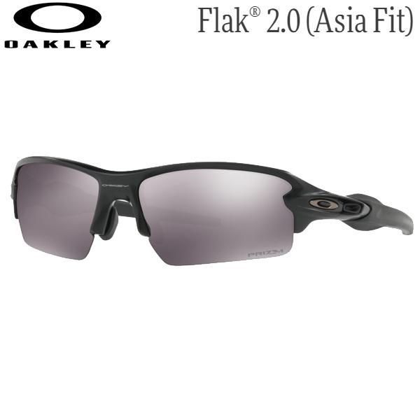 オークリー メンズ スポーツサングラス OO9271-2261 [マットブラック/プリズムブラック] (Men's) OAKLEY Flak 2.0 (Asia Fit)