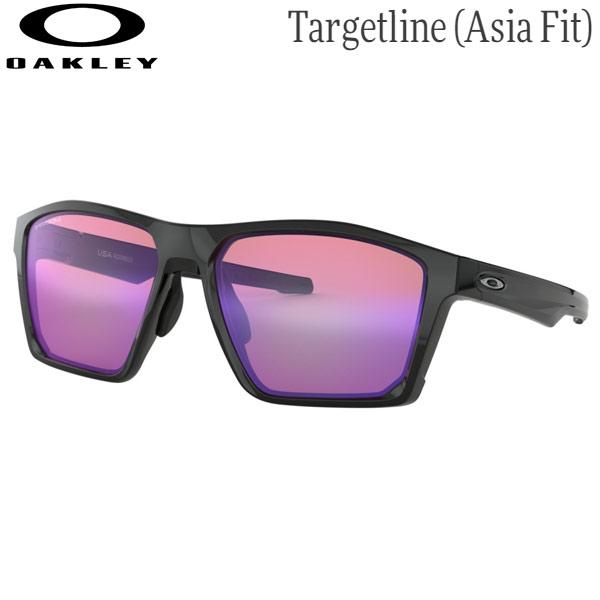 オークリー メンズ スポーツサングラス OO9398-0458 [ポリッシュドブラック/プリズムゴルフ] (Men's) OAKLEY Targetline (Asia Fit)