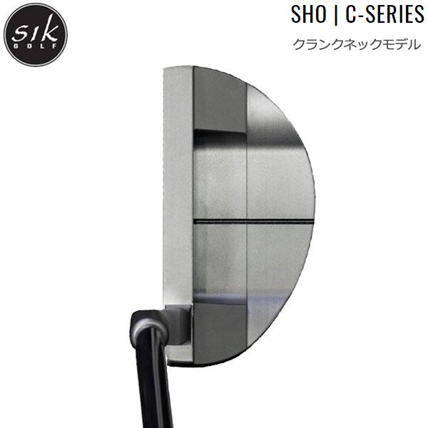 【最大1,200円OFFクーポン配布中】【18年モデル】シックゴルフ ショー Cシリーズ パター [クランクネック] SIK GOLF Sho C-Series