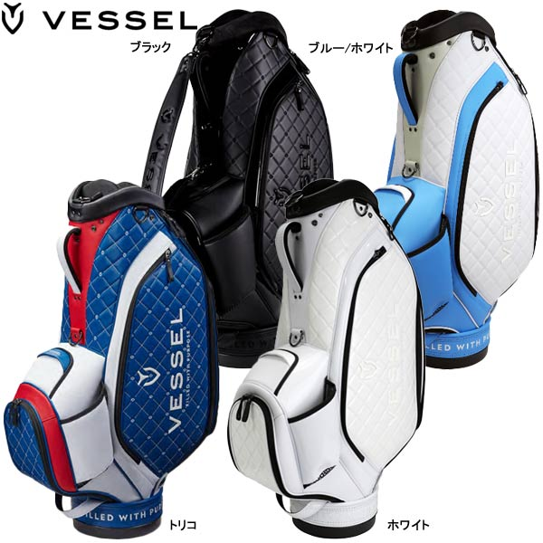 【19年モデル】ベゼル メンズ ラグジュアリーススタッフ キャディバッグ (Men's) Lux Staff JP VESSEL 日本オリジナルモデル