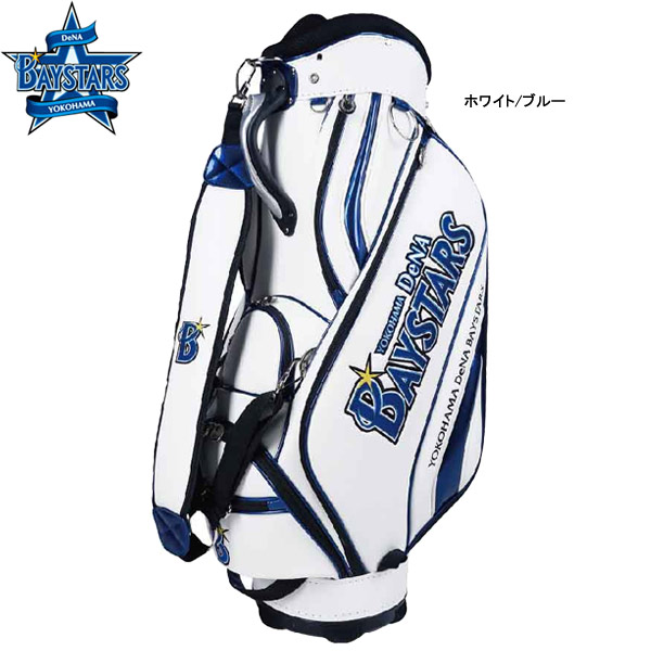 【20年モデル】レザックス 横浜DeNAベイスターズ メンズ キャディバッグ YBCB-0524 (Men's) BAYSTARS LEZAX