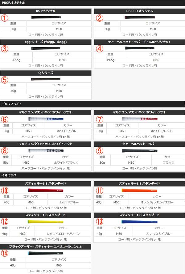 PRGR RS RED 【特注】 プロギア アイアン5本セット 【19年モデル】 [ディアマナ THUMP IRON] レッド IRON Diamana (#6~#9,PW)