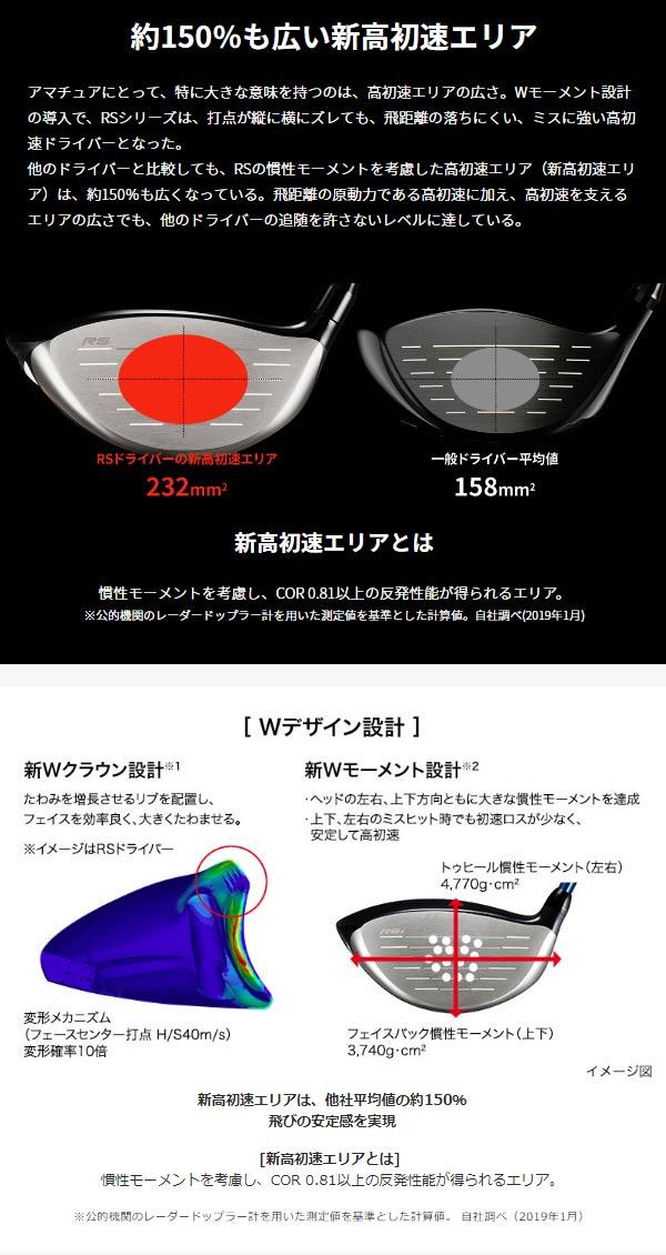 【特注】【19年モデル】 プロギア RS E ドライバー [スピーダー 757 EVOLUTION 4] PRGR レッド DRIVER Speeder