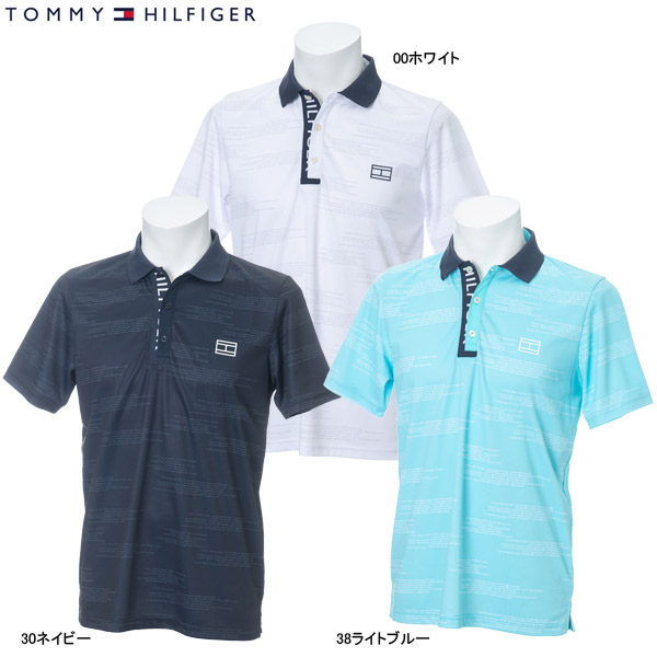 ♪【2019 S/S】トミーヒルフィガー ゴルフ メンズ S/S ポロシャツ THMA921 (Men's) S/S POLO SHIRT TOMMY HILFIGER GOLF