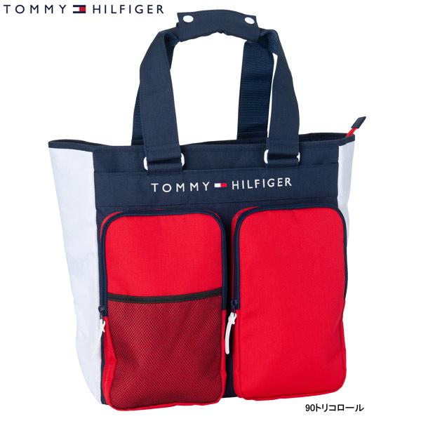 ♪【19年AWモデル】トミーヒルフィガー ゴルフ メンズ/レディース シグネチャー トートバッグ THMG9FBD (ユニセックス) SIGNATURE TOTE BAG TOMMY HILFIGER