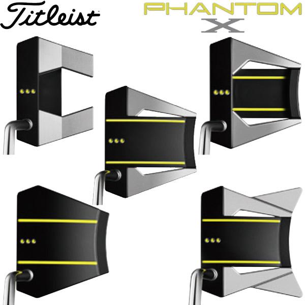 【19年モデル】 タイトリスト スコッティ・キャメロン ファントム X パター Titleist SCOTTY CAMERON PHANTOM X PUTTERS