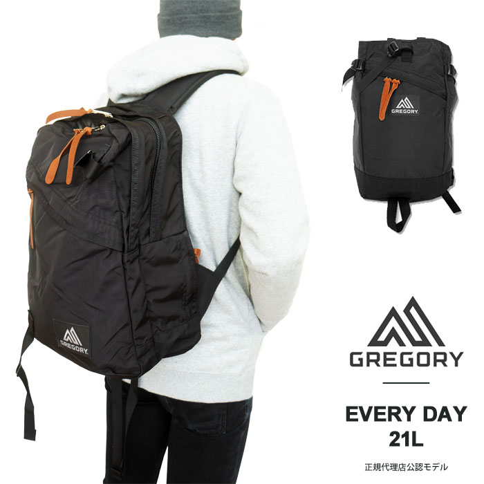 GREGORY グレゴリー リュック エブリデイ EVERY DAY 21L デイパック リュックサック バックパック バッグ 2層 クラシック A4 メンズ レディース 国内 【正規品】 655781041 [2018 AW New]