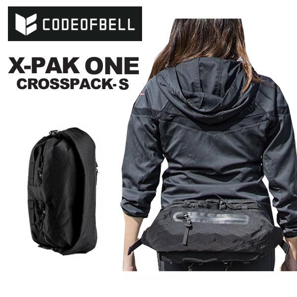 CODE OF BELL コードオブベル X-パック ONE SUMMIT ボディバッグ ウエストバッグ ヒップバッグ ワンショルダー クロスパック 国内 【正規品】 COFB SUMMIT X-PAK ONE BLACK [2018 AW New]