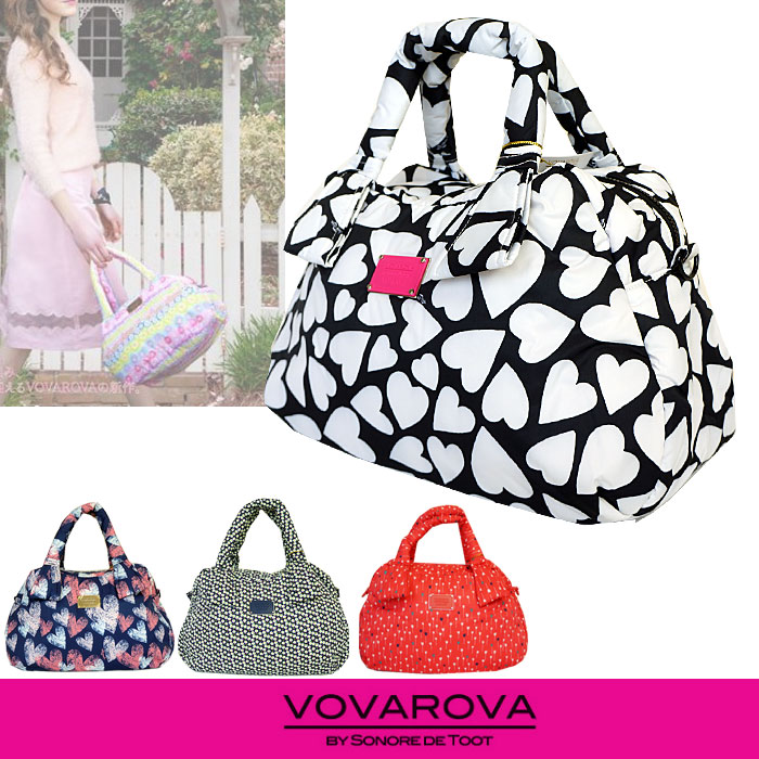 [20%offSale]VOVAROVA by Sonore de Toot ヴォヴァロヴァ ソノレデトート ボバロバ リボン デイバッグ 3Way トートバッグ リュック ショルダー バッグ Ribbon Day Bag 【店頭受取対応商品】