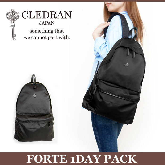 CLEDRAN クレドラン リュック バックパック FORTE 1DAY PACK デイパック リュックサック MADE IN JAPAN 国内【正規品】 CLM1005 FORTE 1DAY PACK 88-0019[クーポン対象外]