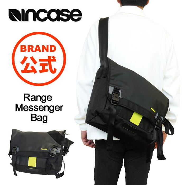 Incase インケース ショルダーバッグ メッセンジャーバッグ ビジネス ショルダー メンズ 国内 【正規品】 CL55538 Range Messenger Bag 37161016