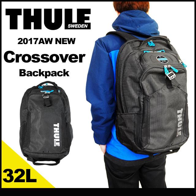 THULE スーリー リュック クロスオーバー バックパック 32L ビジネスリュック リュックサック バッグ PC収納 B4 大容量 メンズ 国内 【正規品】 TCBP-417 Crossover 32L Backpack