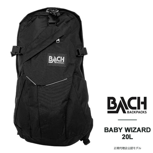 [40%offSale]BACH リュック バッハ リュック バックパック メンズ 国内正規代理店アイテム 縦長 デイパック リュックサック 国内 【正規品】125211 BABY WIZARD 20L 【店頭受取対応商品】