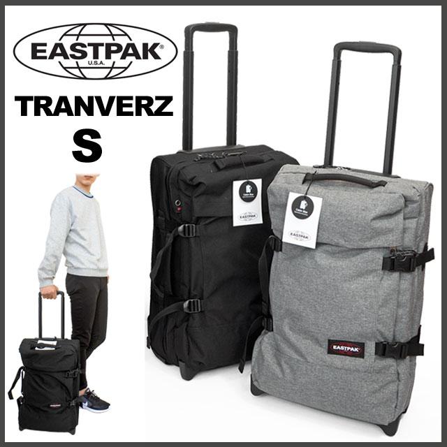 EASTPAK イーストパック キャリーバッグ トロリーケース トラベルバッグ ソフト 機内持ち込み 国内 【正規品】 EK61F TRANVERZ S 42L