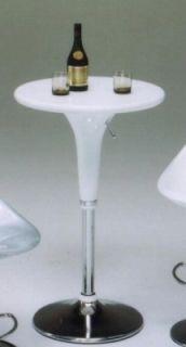 A-2015 バーテーブル(カウンターテーブル) 【ホワイト(白)】【送料無料】 【送料無料●激得】