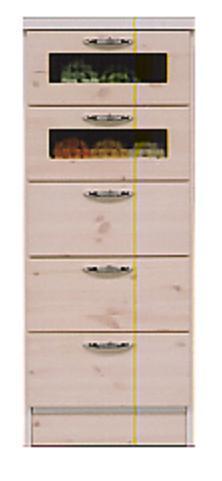 バニラ 40幅5段チェスト(整理タンス・収納タンス・洋服タンス・収納家具・押入れタンス)【ホワイト(白)】【半額以下】【送料無料】 【送料無料●激得】
