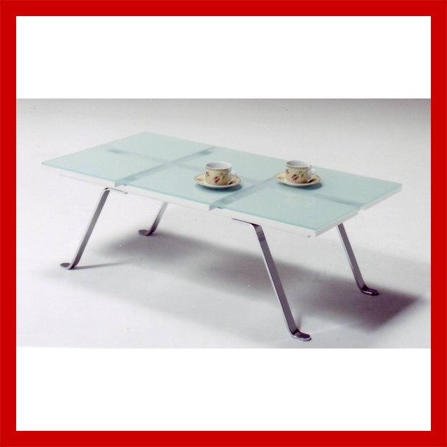 フレスコ 110ガラステーブル(リビングテーブル・ローテーブル・センターテーブル)【送料無料】 【送料無料●激得】