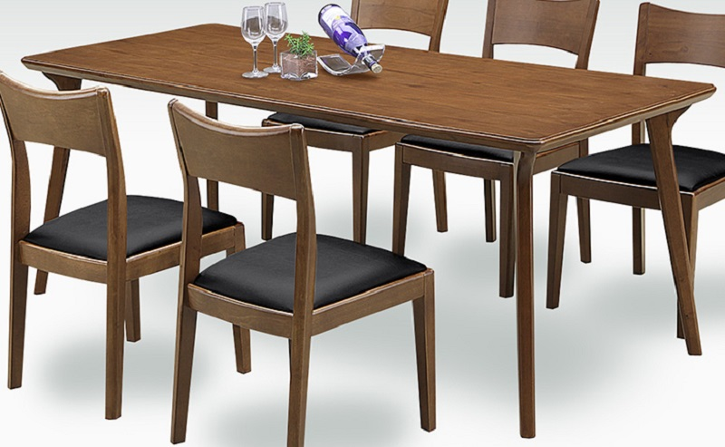 ダイニングテーブル・180ブロンズ(こちらはテーブルのみです)(2色対応)【ブラウン】【ナチュラル】