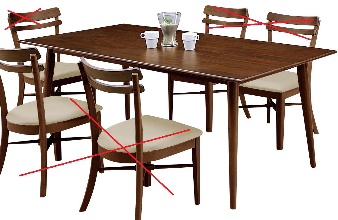 ダイニングテーブル・180ゴルゴ【2色対応】【ダークブラウン】【ツートン】【テーブルのみの販売】【送料無料】(一部地域除く) CESENA ゴルゴ