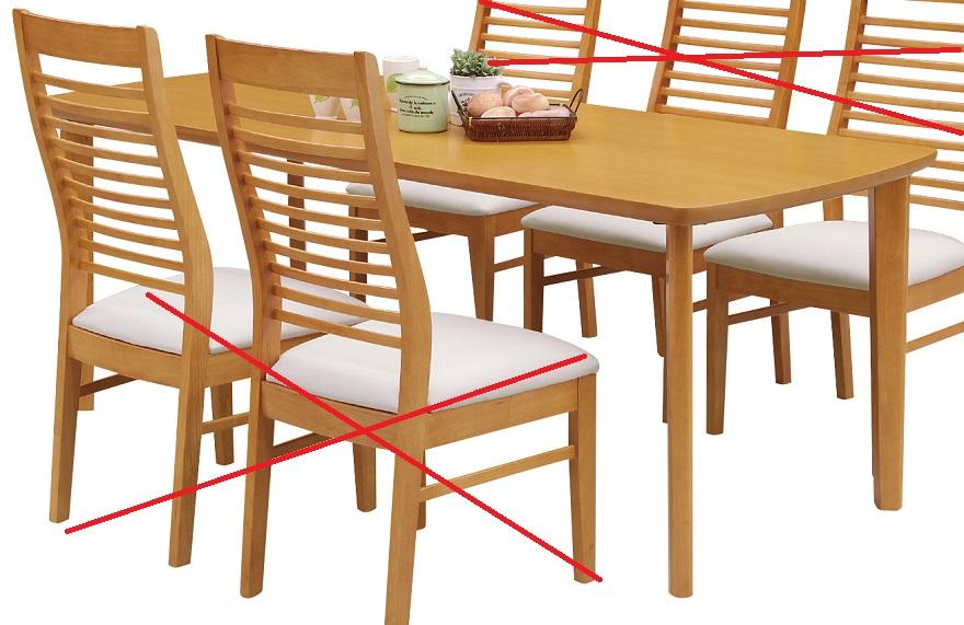 ダイニングテーブル・180コロラド【2色対応】【ブラウン】【ナチュラル】【テーブルのみの販売】【送料無料】(一部地域除く) CESENA コロラド