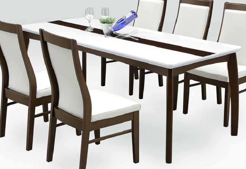 ダイニングテーブル・180オーロラ(こちらはテーブルのみです)【ブラウン】