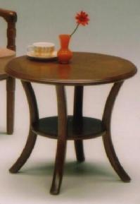 サリブ センターテーブル(ローテーブル・リビングテーブル) 丸型(円型)【送料無料】 【送料無料●激得】