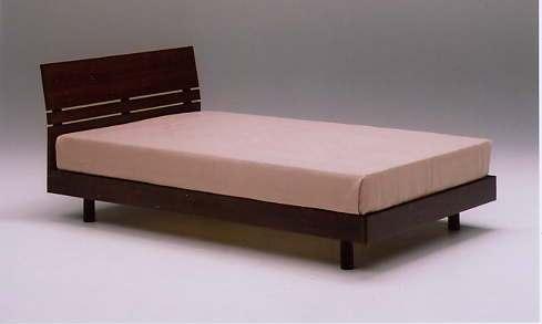 SB-11D ダブルベッドフレーム (ウォールナット)【木製ベッド】【送料無料】 【送料無料●激得】