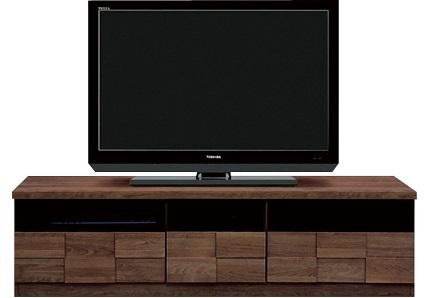 160テレビボード・アスター【2色対応】(ナチュラル/ブラウン)【送料無料】(北海道・沖縄・離島を除く)