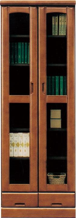 60書棚・フレンド【2色対応】【ラバーウッド】【日本製】【送料無料】(北海道・沖縄・離島を除く)