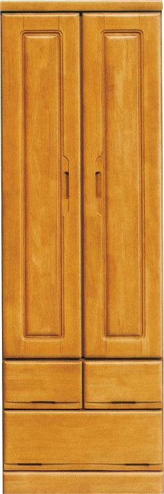 60服吊・Nスワン【2色対応】(パイン)(洋服タンス・収納家具・衣類収納)【日本製】【送料無料】(沖縄・北海道・離島を除く)