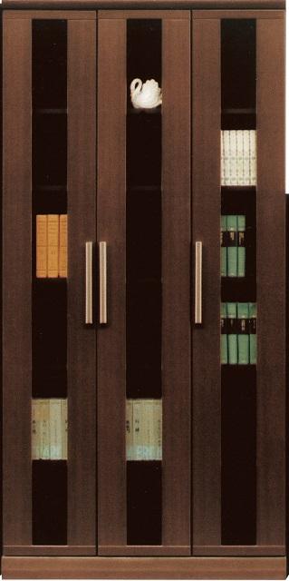 90書棚・タイト【MDF】【強化紙】【日本製】【送料無料】(北海道・沖縄・離島を除く)