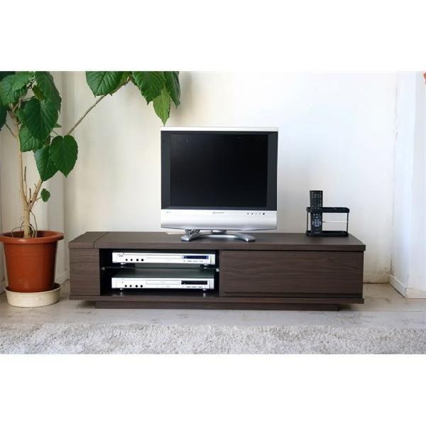 120cm幅 テレビボード クラウド 【カラー:ブラウン、ホワイト】