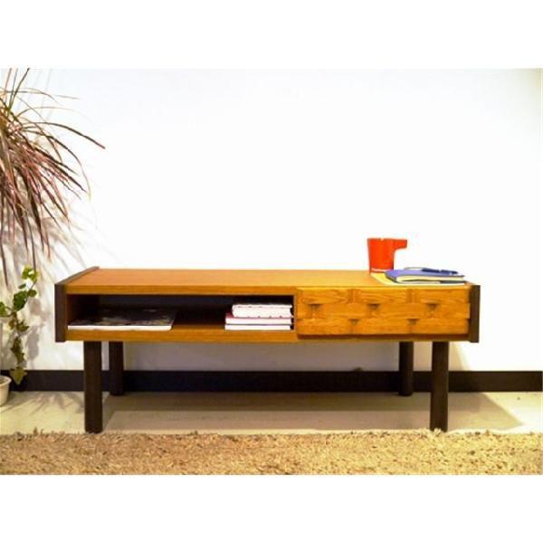95cm幅 引き出し付きリビングテーブル マジロ