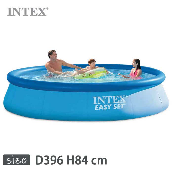 INTEX(インテックス)丸形イージーセットプールES1333【 396 × 84 cm】Easy Set Pool 28143