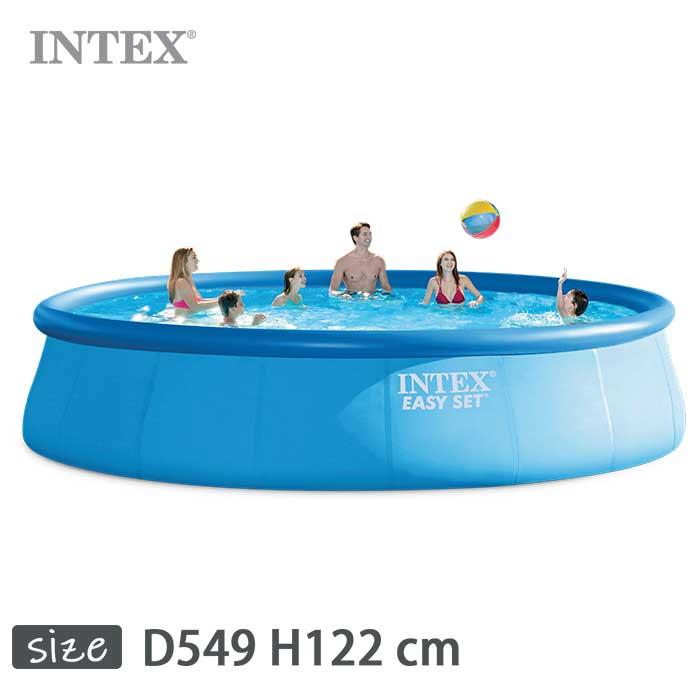 INTEX(インテックス)丸形イージーセットプールES1848【 549 × 122 cm】Easy Set Pool 28175
