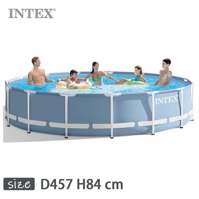 INTEX(インテックス)多角形プリズムフレームプールPF1533【 457 × 84 cm】Prism Frame Pool 28721