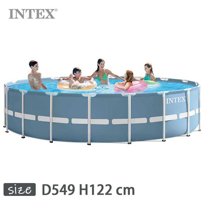 INTEX(インテックス)多角形プリズムフレームプールPF1848【 549 × 122 cm】Prism Frame Pool 28751