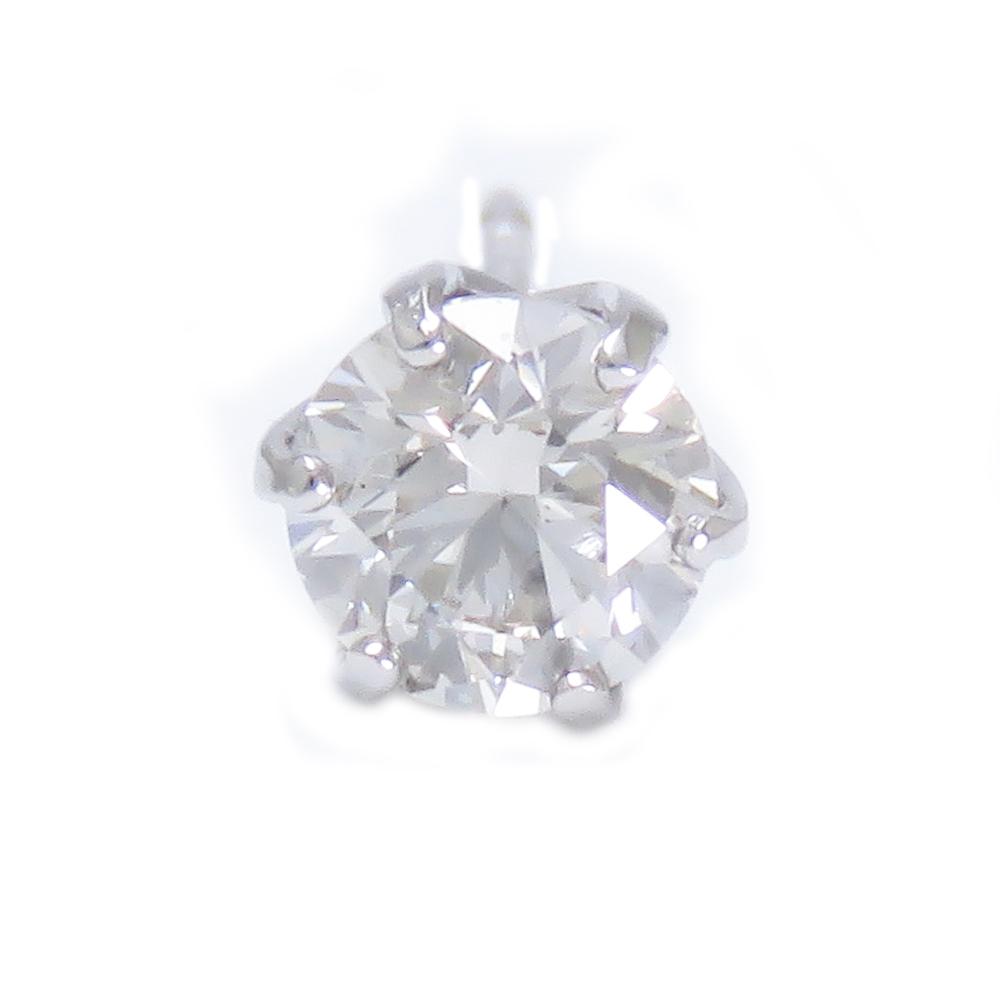 メンズ 片耳 片方 ダイヤモンド ピアス PT900プラチナ スタッドピアス 0.3ctUPSIクラス相当 きれいなダイヤモンド