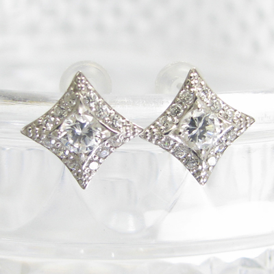 メンズ 男性 おすすめ ピアス Pt900 ダイヤモンド ピアス スタッド 直結式ピアス メンズ レディース ダイヤ ダイア ピアス プラチナ