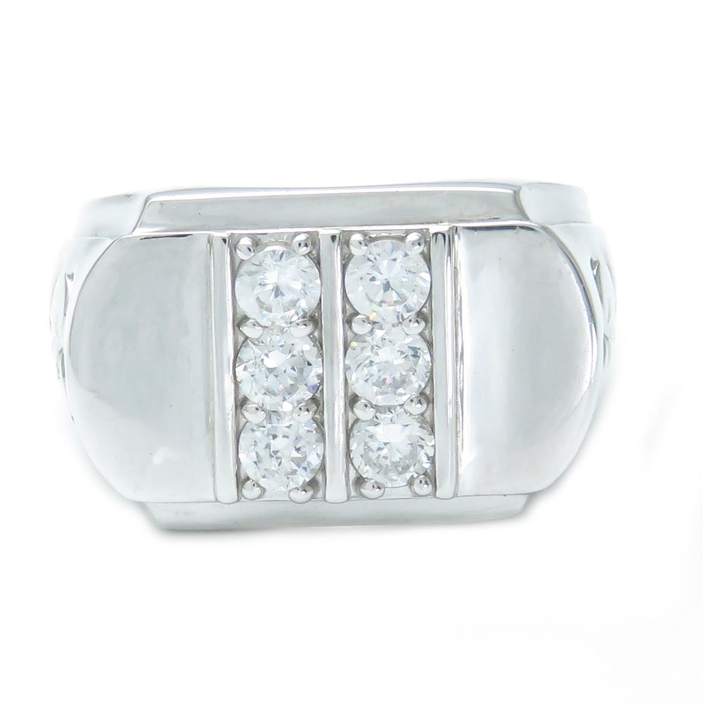 ◆在庫限り◆ 印台 宅送 大振り Pt900 18号で約19g ダイヤモンド デザインリング rapinesu-nh124 0.8ct 幅広 指輪 高級