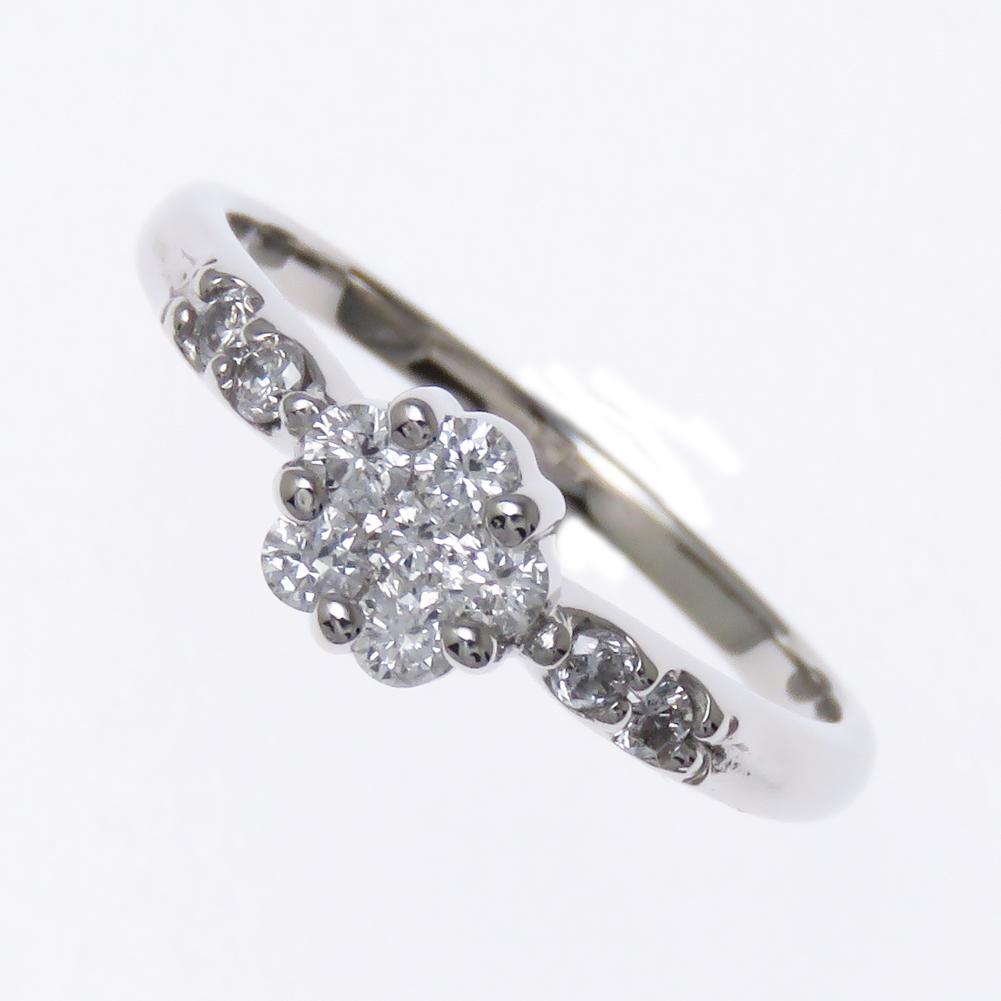 10周年をお祝いする記念ジュエリー sweet10ring スイートテン Pt900 ダイヤモンド 指輪