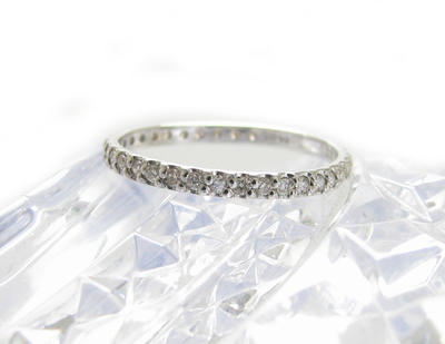 フルエタニティ ダイヤモンド リング 指輪 0.3ct フルエタ K18WG ホワイトゴールド サイズ 10号送料無料 プレゼント ギフト対応 サイズ限定商品